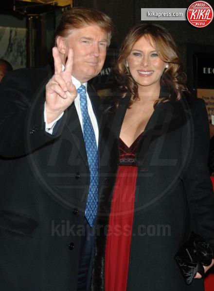 Knauss, Melania Knauss, Donald Trump - New York - 01-12-2005 - Donald Trump sarà il prossimo Presidente Usa?