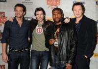 Quinton Jackson, Sharlto Copley, Liam Neeson, Bradley Cooper - Culver City - 05-06-2010 - Liam Neeson ha ricominciato a fumare sul set di A Team