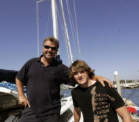 Zac Sunderland - Marina Del Rey - Scomparsa in mare Abby Sunderland, sorella del navigatore da record Zac