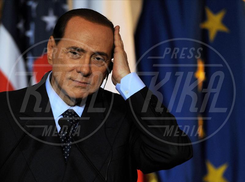 Silvio Berlusconi - Milano - 10-06-2010 - Villa Arzilla: i Peter Pan dello showbusiness