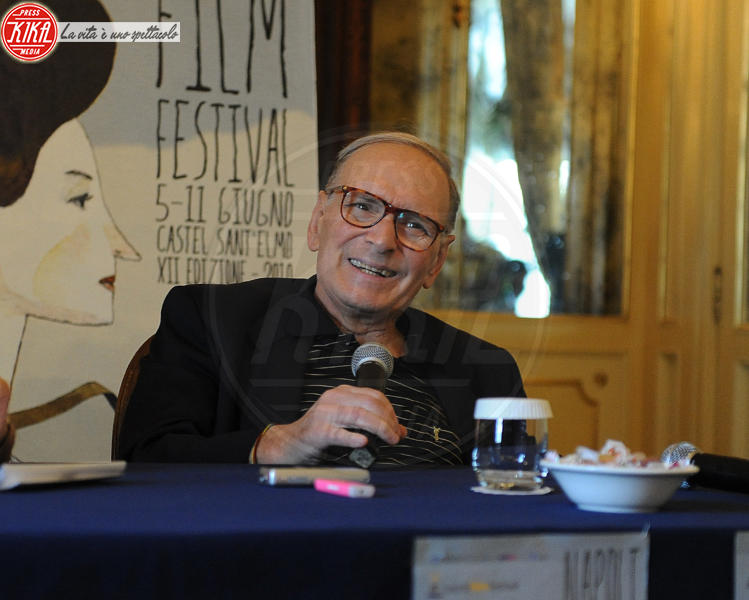 Ennio Morricone - Napoli - 11-06-2010 - Ennio Morricone premiato dal re di Svezia