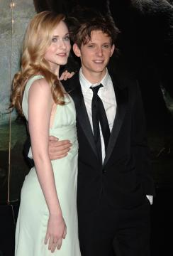 Jamie Bell, Evan Rachel Wood - New York - 05-12-2005 - Evan Rachel Wood shock: