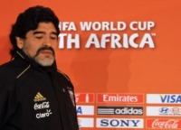 """Diego Armando Maradona - Pretoria - 16-06-2010 - Mike Tyson in tv: """"Sto morendo di alcol e droga"""""""