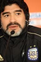 Diego Armando Maradona - Pretoria - 16-06-2010 - Il pallone d'oro rubato a Maradona venne fuso dalla camorra