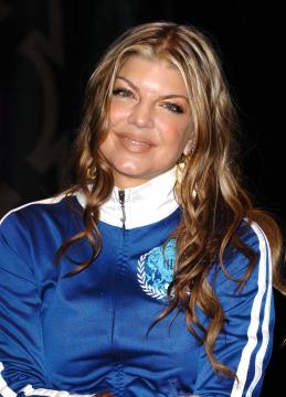 Fergie - Los Angeles - 06-01-2006 - Usher e Fergie nel film su James Brown