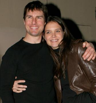 Katie Holmes, Tom Cruise - Santa Monica - 15-01-2006 - CINEMA: nata Suri figlia Tom Cruise e Katie Holmes