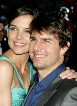 Katie Holmes, Tom Cruise - New York - 23-06-2005 - CINEMA: nata Suri figlia Tom Cruise e Katie Holmes