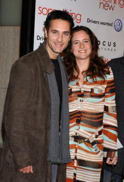 """Chiara Giordano, Raoul Bova - Hollywood - 24-01-2006 - Sfogo Raoul Bova: """"Con Chiara è finita, ma non sono gay"""""""