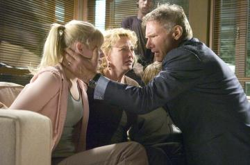 "Carly Schroeder, Virginia Madsen, Harrison Ford - Hollywood - 28-01-2006 - Addio alle scene? Harrison Ford dice ""no grazie"""