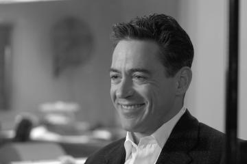 Robert Downey Jr - Los Angeles - 06-02-2006 - E' morto il giornalista Joseph Wershba che ispirò il film Good night and good luck
