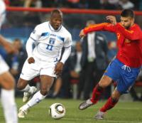 Gerard Piqué, David Suazo - Johannesburg - 21-06-2010 - Ecco i calciatori nel mirino dell'anonima sequestri