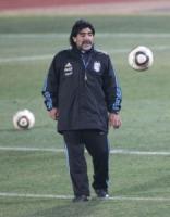 """Diego Armando Maradona - Pretoria - 25-06-2010 - Mike Tyson in tv: """"Sto morendo di alcol e droga"""""""