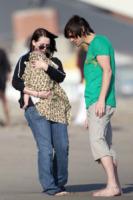 Jane Carrey, Jackson Riley Santana, Jim Carrey - Malibu - 04-07-2010 - La figlia di Jim Carrey divorzia dopo due anni