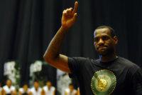 LeBron James - Cleveland - 09-07-2010 - Miniera Instagram: quanto vengono pagati i post delle star?