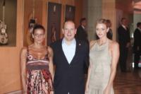 Principe Alberto di Monaco, Principessa Stephanie di Monaco, Principessa Charlene Wittstock - Monaco - 16-07-2010 - La fidanzata del principe Alberto di Monaco si è convertita a cattolicesimo