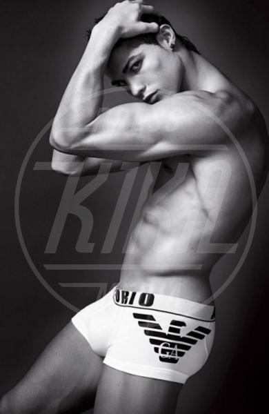 Cristiano Ronaldo - Milano - 14-01-2010 - Il nuotatore Luca Dotto è il nuovo volto di Emporio Armani