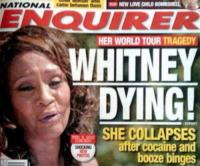 Whitney Houston - Los Angeles - 21-07-2010 - Whitney Houston fa una scenata a bordo di un aereo