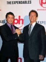 Sylvester Stallone, Arnold Schwarzenegger - 11-08-2010 - Sylvester Stallone perde la pazienza per una multa