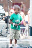 Usher - New York - 20-08-2010 - Il figlio di Usher in ospedale: ha rischiato di annegare
