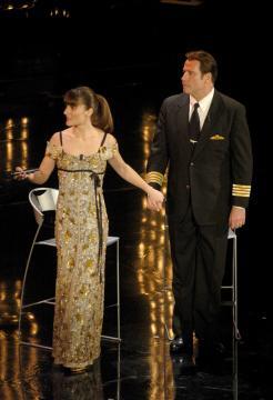 Victoria Cabello, John Travolta - Sanremo - 28-02-2006 - Le vallette degli ultimi anni al Festival di Sanremo