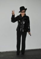 Yoko Ono - Berlino - 10-09-2010 - Yoko Ono confessa la sua passione per Lady Gaga