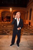 Giorgio Armani - Milano - 22-09-2010 - Giorgio Armani disegnera' l'abito di Charlene Wittstock