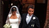 Manuela Rocco, Roberto Mercandalli - Milano - 05-10-2009 - Roberto Mercandalli, il Cumenda del GF, fuori strada con la Ferrari insieme alla moglie