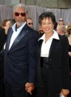 "la moglie Myrna, Morgan Freeman - Hollywood - 05-03-2006 - Morgan Freeman in trattative per ""The Feast of Love"""