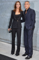 Elisabetta Canalis, George Clooney - Milano - 27-09-2010 - George Clooney contento che l'uomo piu' sexy del mondo non sia Brad Pitt