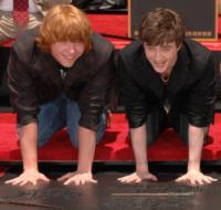 Daniel Radcliffe, Rupert Grint - Hollywood - 08-07-2007 - Il Ron Weasley di Harry Potter sarà un fanatico di fumetti