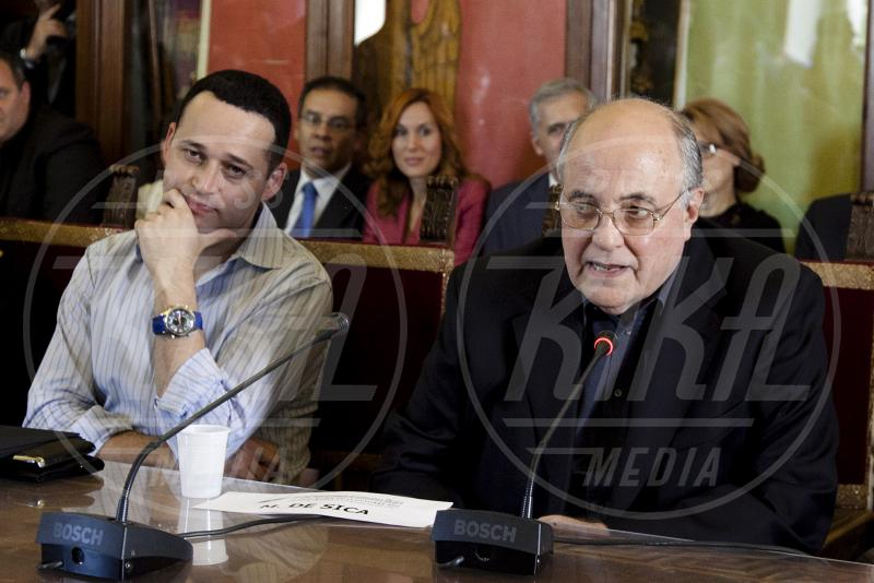 Ron Leshem, Manuel De Sica - Roma - 08-10-2010 - Il pentagramma italiano perde le sue note migliori