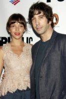 Zoe Buckman, David Schwimmer - Los Angeles - 12-11-2010 - David Schwimmer diventera' padre