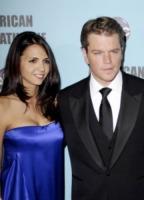 Luciana Barroso, Matt Damon - Los Angeles - 28-03-2010 - Matt Damon e la moglie avranno una bambina