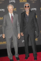 Clint Eastwood, Morgan Freeman - Los Angeles - 18-02-2010 - Premio alla carriera per Morgan Freeman