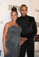 Swizz Beatz, Alicia Keys - New York - 15-03-2010 - Alicia Keys e' diventata mamma, e' nato Egypt Daoud Dean