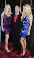 Hugh Hefner - Las Vegas - 21-10-2010 - Hugh Hefner si e' fidanzato