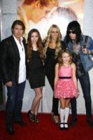 Laetitia Jean, Billy Ray Cyrus, Miley Cyrus - Hollywood - 13-08-2007 - Miley Cyrus vuole riunire la famiglia per i suoi diciotto anni