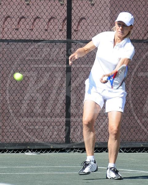 Martina Navratilova - Boca Raton - 05-11-2010 - Gli Us Open risvegliano la passione per il tennis delle star