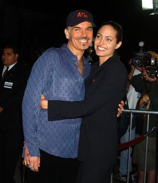Billy Bob Thornton, Angelina Jolie - Westwood - 04-10-2001 - Non c'è due senza tre... star dal SI' facile