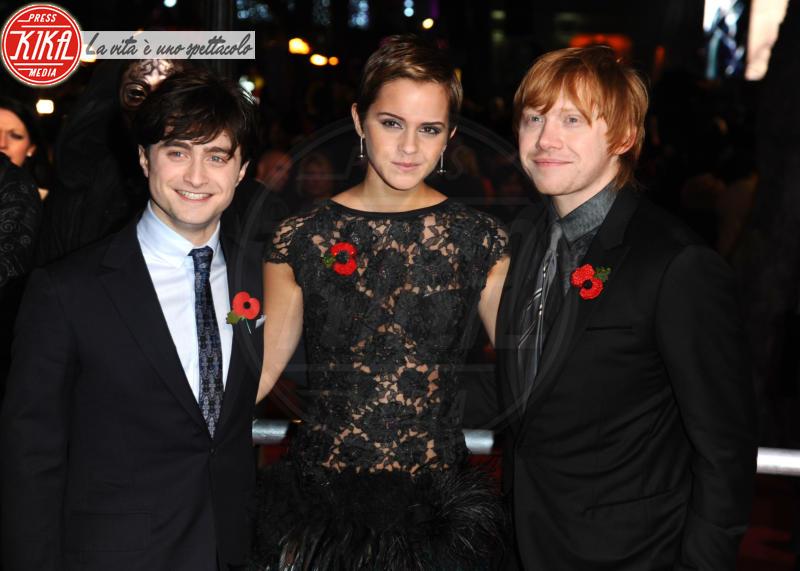 Emma Watson, Daniel Radcliffe, Rupert Grint - Londra - 12-11-2010 - Emma Watson a un passo dai trenta! Auguri Hermione