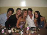 Thiago, Marianne Puglia, Lory Del Santo, Paolo Molinaro - Roma - 12-11-2010 - TheLady2 sarà un successo. Parola di Lory Del Santo