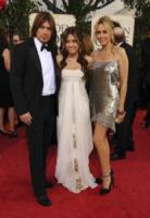 Laetitia Jean, Billy Ray Cyrus, Miley Cyrus - Beverly Hills - 11-01-2009 - Billy Ray Cyrus non divorzia piu' e riconquista la figlia Miley