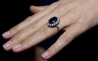 Kate Middleton - 16-11-2010 - Da Elisabetta II a Meghan: gli anelli più preziosi del reame