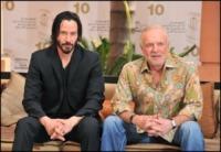 James Caan, Keanu Reeves - Marrakech - 04-12-2010 - Keanu Reeves annuncia Matrix 4 e 5