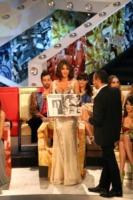 Sara Facciolini, Carlo Conti - Roma - 03-12-2010 - Le vallette degli ultimi anni al Festival di Sanremo