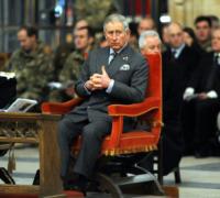 Principe Carlo d'Inghilterra - York - 07-12-2010 - Il principe Carlo d'Inghilterra e la principessa del pop Cheryl Cole insieme per i giovani