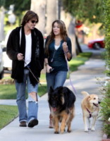 Billy Ray Cyrus, Miley Cyrus - Los Angeles - 13-04-2009 - Billy Ray Cyrus ha paura per la figlia Miley