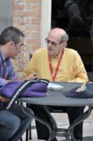 Manoel De Oliveira - Venezia - 08-09-2010 - Il regista portoghese Manoel DeOliveira compie 102 anni