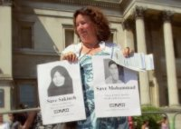 "Sakineh Mohammadi Ashtani - Bruxelles - 14-11-2010 - Teheran smentisce il rilascio: ""Sakineh non è stata liberata"""