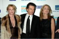"Caroline Kennedy, Antonio Banderas, Melanie Griffith - New York - 04-04-2006 - Banderas protagonista di ""Homeland Security"""